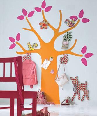 Как сделать дерево на стену из бумаги 470